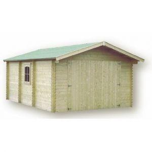 Garage model 'Gamagran' 44mm / 21,23 m2